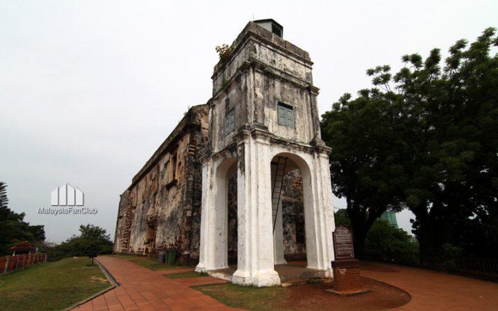 """โบสถ์เซนต์พอล """"St. Paul's Church """" มะละกา"""