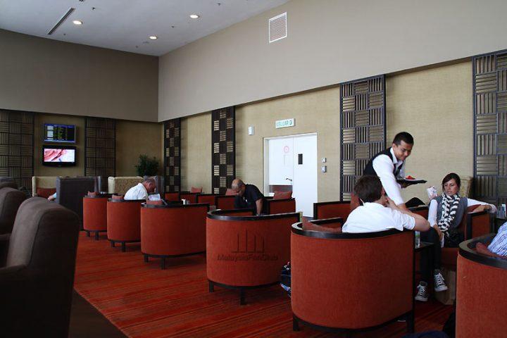 Golden Lounge สุดหรูโดยสายการบิน Malaysia Airlines